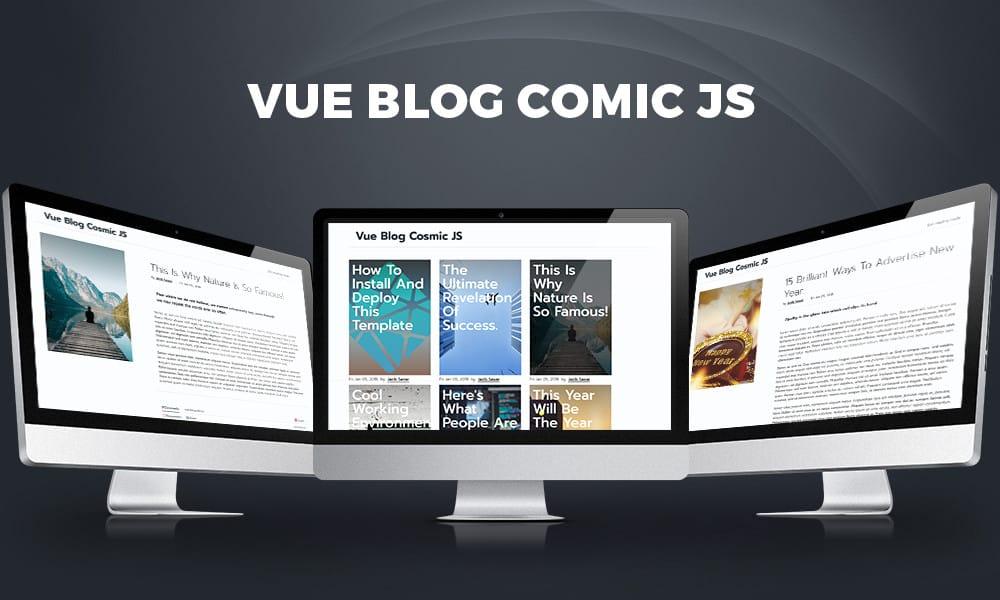 Vue Blog